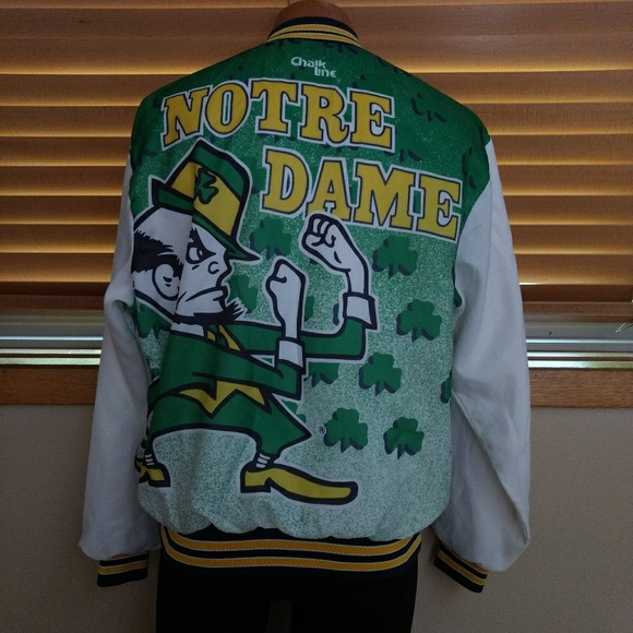 e9a4a60f7b264d Chalk Line Other - Vintage 80 s Notre Dame Fighting Irish Jacket